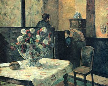 Paul Gauguin, Interieur du peintre Paris, rue Carcel (1881) - 01.jpg
