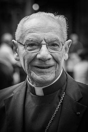 Paul Poupard - Paul Cardinal Poupard in 2015