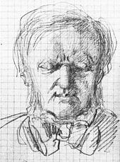 Am Vorabend seines Todes, Zeichnung von Paul von Joukowsky (Quelle: Wikimedia)
