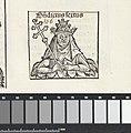 Paus Benedictus VI Benedictus sextus (titel op object) Liber Chronicarum (serietitel), RP-P-2016-49-65-9.jpg