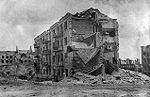 La « Maison de Pavlov » en 1943.