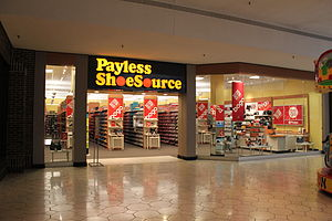 Payless ShoeSource - Payless ShoeSource store, Briarwood Mall, Ann Arbor, Michigan