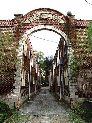 Inman Park–Moreland Historic District - Pendleton Apartments, Euclid Avenue