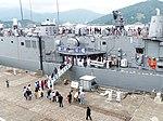 People Aboarding ROCN Tzu I (PFG-1107) in Zhongzheng Naval Base Open Day 20130504b.jpg