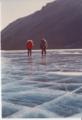 People walking on Lake Vanda 1974.png