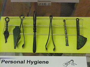 Personal hygiene implements. Photo taken at He...