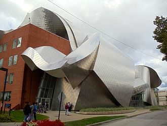 2002 in architecture - Image: Peter B. Lewis Bldg