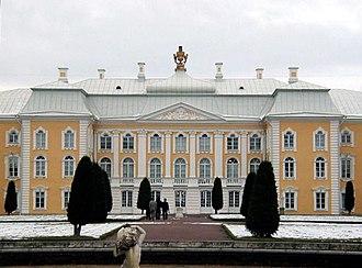 Duke Constantine Petrovich of Oldenburg - Peterhof - Front View