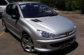 Una 206 RC del 2004