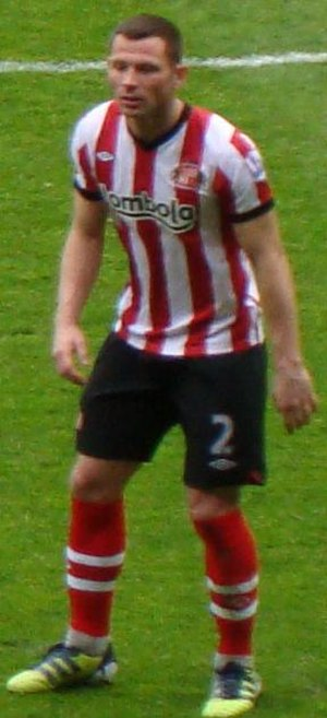 Phil Bardsley - Bardsley playing for Sunderland in 2012