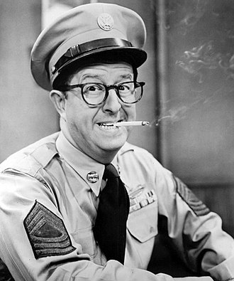 Phil Silvers - Silvers as Sgt. Bilko
