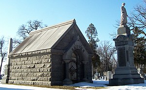 Philetus Sawyer - Sawyer's family mausoleum