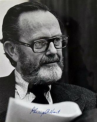 1972 in Michigan - Sen. Hart