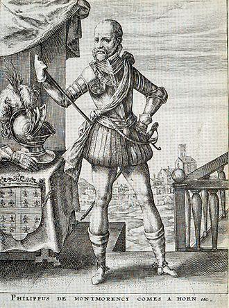 Philip de Montmorency, Count of Horn - Count of Horn