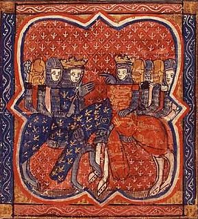 Conflict between the dynasties of the Capetians and Plantagenets