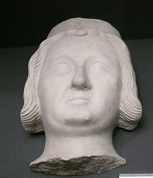 Philip III of Navarre - Bust in the Louvre, originally from the Jacobin convent which housed Philip's heart