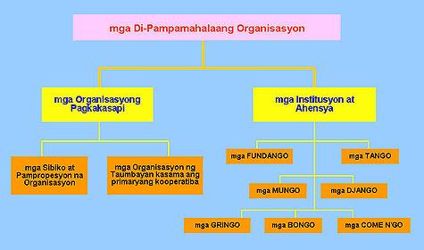Tipolohiya ng DPO ( NGO ) ng Pilipinas