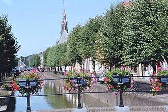 Schoonhoven - Canal in Schoonhoven