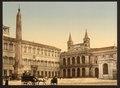 Piazza di San Giovanni in Laterano, Rome, Italy-LCCN2001700964.tif