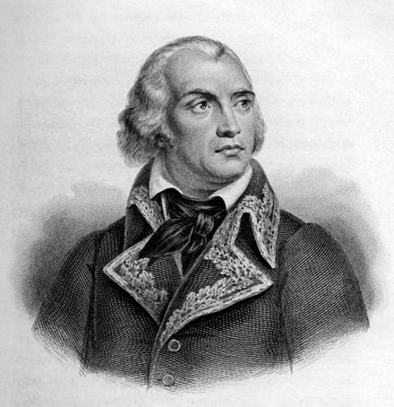 General Jean-Charles Pichegru, president of the Council of Five Hundred, was accused of being a secret royalist Pichegru.jpg