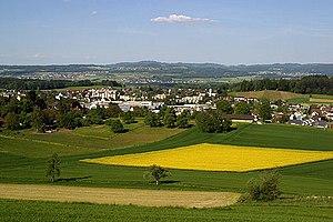 Swiss Plateau - The Swiss Plateau near Muri (AG)