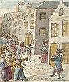 Pierre Goetsbloets, vol. III, Anno 1795 - tot Antwerpen - De franschen beletten het huys van den Borger Matheesens te plunderen tot hunner eere en lof.jpg