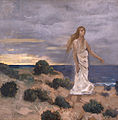 Pierre Puvis de Chavannes - Woman on the Beach - WGA18535.jpg