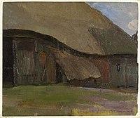 Piet Mondriaan - Truncated farm building in Brabant - 0334243 - Kunstmuseum Den Haag.jpg