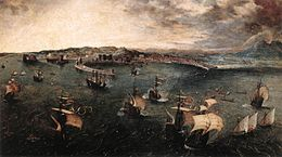 Pieter Bruegel the Elder - Naval Battle in the Gulf of Naples - WGA03522.jpg