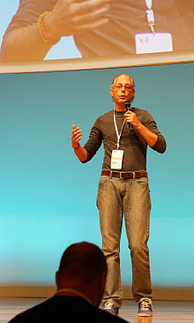 Pieter Hintjens at EuroPython2014.jpg