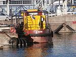 Piiber at Quay 9 in Tallinn 30 October 2014.JPG
