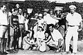 PikiWiki Israel 8443 Gan-Shmuel -members and pumpkin 1934.jpg