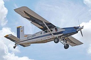 Pilatus PC-6 Porter STOL utility transport aircraft