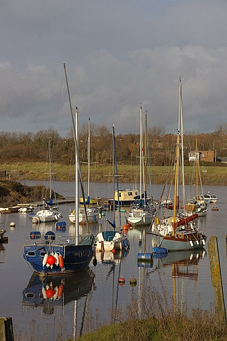 Pill, Somerset - Image: Pill MMB 09 Harbour