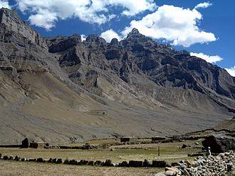 Spiti Valley - Pin valley in Spiti Valley.