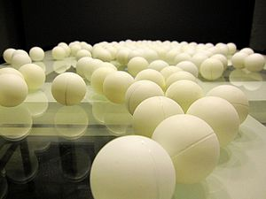 Got a set of ping pong balls in for a project....