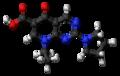 Piromidic acid molecule ball.png