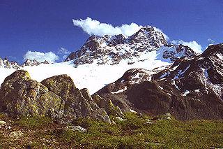 Albula Alps mountain range