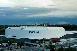 Laval, Quebec - Place Bell, home to the Laval Rocket and Les Canadiennes de Montreal