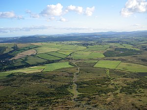 County Wicklow - Surrounding area west of Bray.