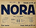 Plakat za predstavo Nora v Narodnem gledališču v Mariboru 4. maja 1934.jpg