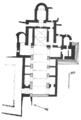 Plan de la iglesia de Abbatiale de Saint-Michel de Cuxa par Jean-Auguste Brutails.png