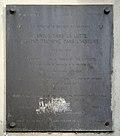 Plaque à la mémoire du patriote Charles HINDENLANG, 70 rue Lafayette, Paris 9e.jpg