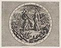 Plate 1- Roma and Batavia Shaking Hands, from The War of the Romans Against the Batavians (Romanorvm et Batavorvm societas) MET DP863204.jpg