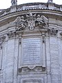Plate of Clemens X on the facade of Santa Maria Maggiore (Rome).jpg