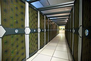 Pleiades (supercomputer) - Image: Pleiades two row