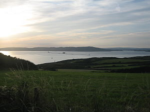 Plymouth Sound - Plymouth Sound from Heybook Bay