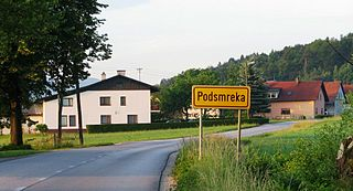 Podsmreka, Dobrova–Polhov Gradec Place in Upper Carniola, Slovenia