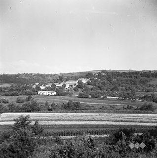 Velike Loče Village in Littoral, Slovenia