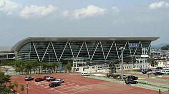 Pohang Airport - Image: Pohang Airport 20090502